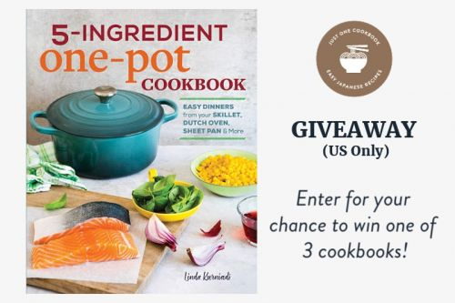 '5-Ingredient One-Pot Cookbook' Giveaway