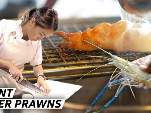 How a Master Chef Catches Thailand's Giant River Prawns for an Ancient Thai Dish