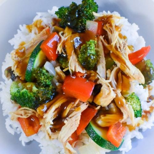 Crockpot Sweet Teriyaki Chicken