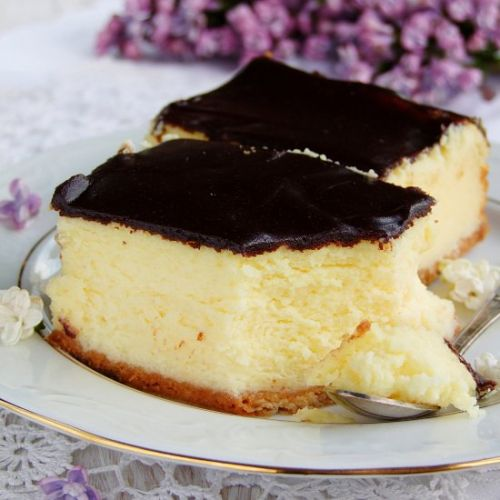 Cheesecake with powdered milk