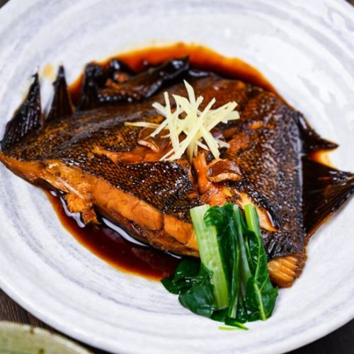 Japanese Simmered Fish