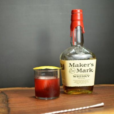 Blackberry and Cinnamon Old Fashion - Food - Food Drink Buzz
