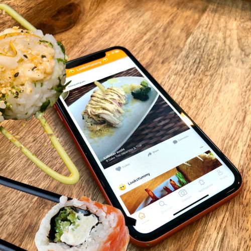 Now You Can Eat With Your Eyes: LooksYummy, LLC Releases Innovative Food App