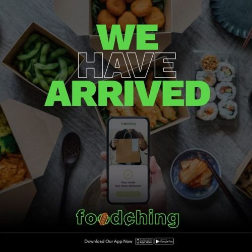 FoodChing Food Delivery Service OPENS 100+ Markets 1st Month