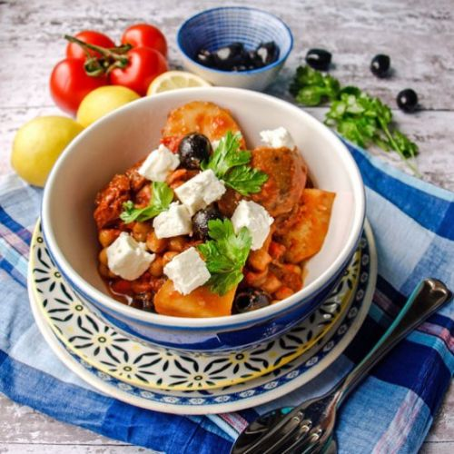 Slow Cooker Greek Baker's Pot