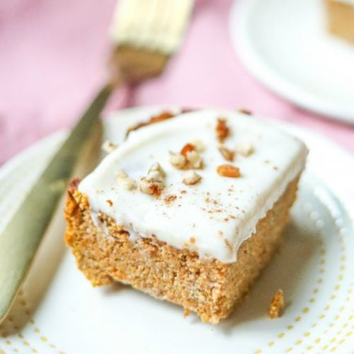 The Best Pumpkin Spice Bars