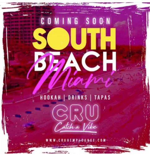 Cru Hemp Lounge Lands in South Beach