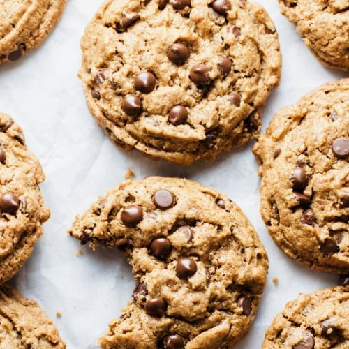 Chewy Flourless Chocolate Chip Cook