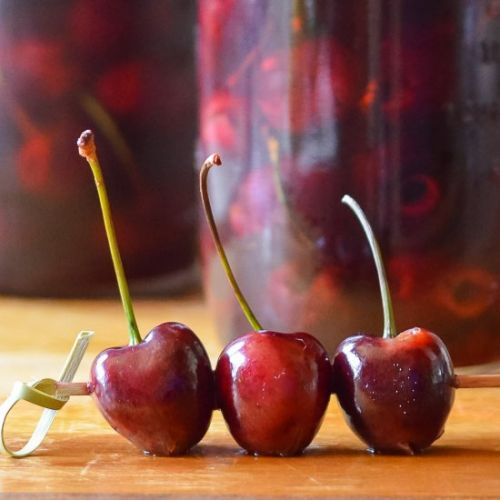 Whiskey Soaked Cherries