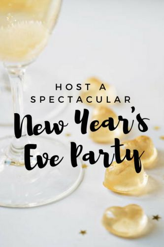 Host a Spectacular New Year's Eve Party!