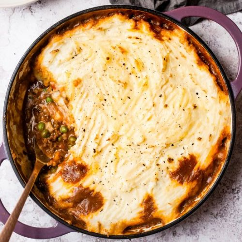 Slow Cooker Cottage Pie