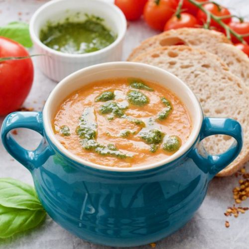 Roasted Tomato & Fennel Soup