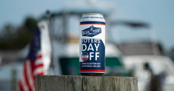 Blue Point Releases 'Voters' Day Off' IPA, Calls For Election Day Holiday
