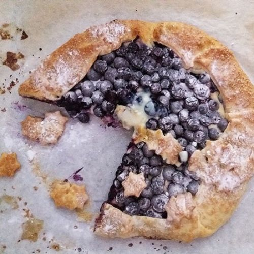 Blueberry Mascarpone Galette Recipe