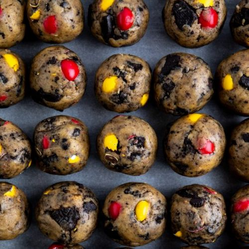 Speckled Oreo Crunch Cookies