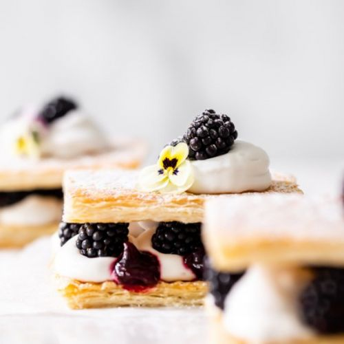 Berry Mille-feuille / Napoleon
