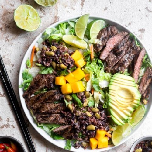 Spicy Sweet Grilled Thai Beef Salad