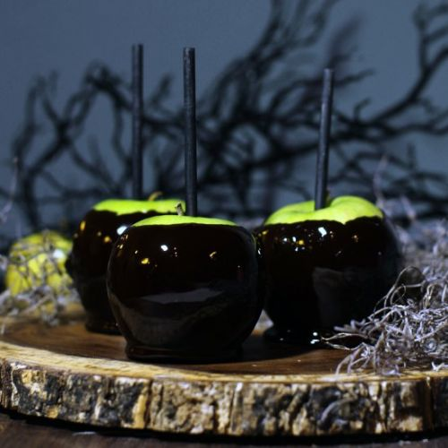 'Poisoned' Candy Apples