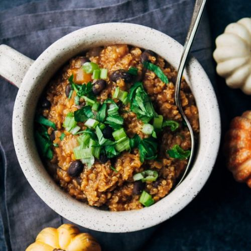 Vegan Pumpkin Beer Chili