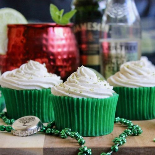 Jameson, Ginger & Lime Cupcakes