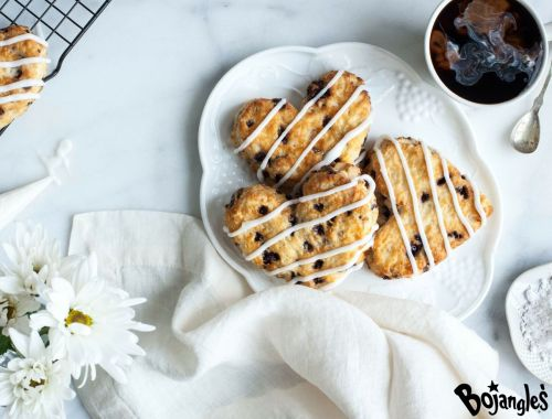Make it a Berry Special Valentine's Day with Bojangles' Heart-Shaped Bo-Berry Biscuits