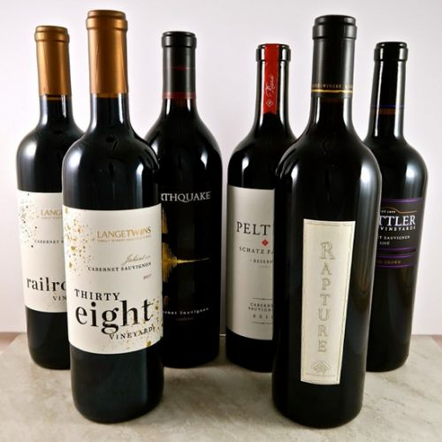Lodi winemakers assess a current crop of Lodi grown Cabernet Sauvignons