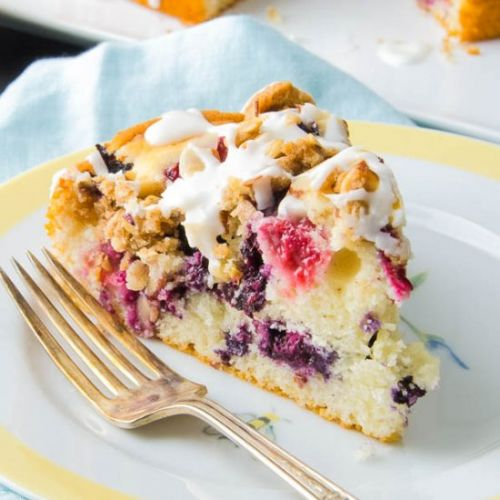 Berry Almond Buckle
