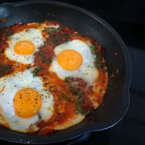 7 Ingredient Cheat Shakshuka Recipe