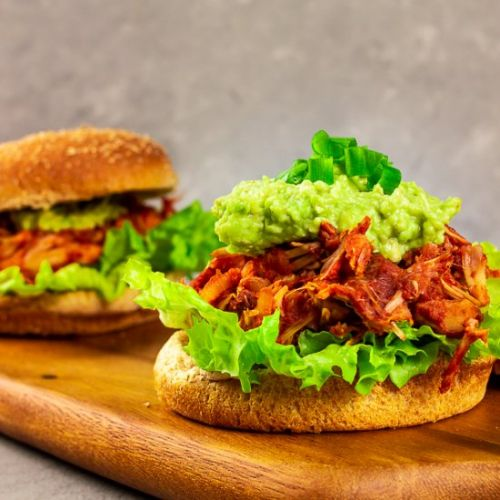 Pulled BBQ Jackfruit with Pineapple