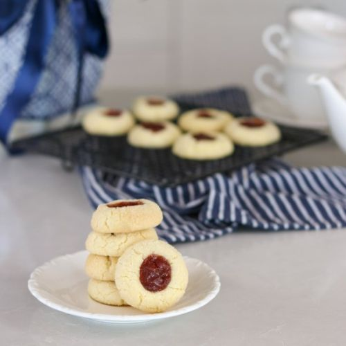 The Best Thumbprint Cookies