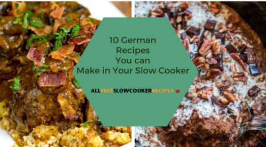 10 German Recipes to Make in Your Slow Cooker