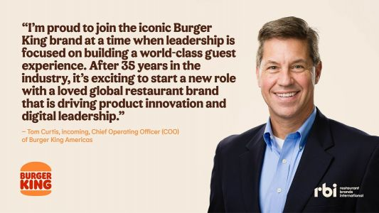 Burger King Appoints New Chief Operating Officer