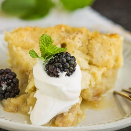Buttermilk Pie Bread Pudding