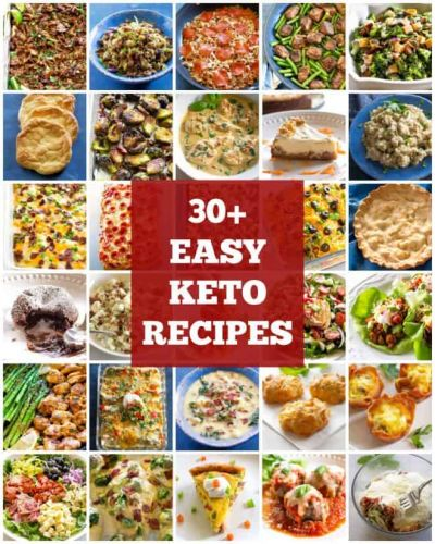 30+ Easy Keto Recipes