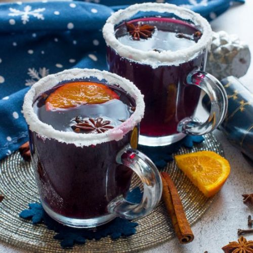 Non alcohol mulled wine