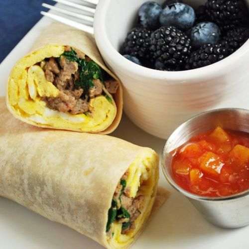 Easy Low Carb Breakfast Burritos