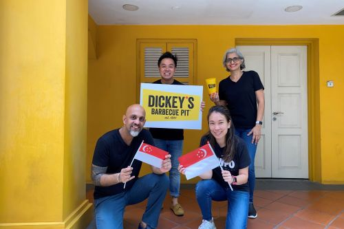 Dickey's Barbecue Pit Expands in Singapore