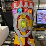 Our New Favorite Way to Drink Soda? Out of Disney's Iron Man Gauntlet Drink Holders, of Course