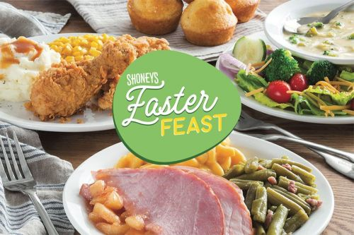 Shoney's Invites America to Enjoy Its Easter Feast Fresh Food Bar on April 4 Featuring Holiday-Themed Delicious Choices