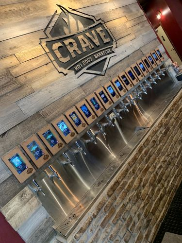 Crave Hot Dogs and BBQ Has First Self-Serve Beer Restaurant in the State of Texas