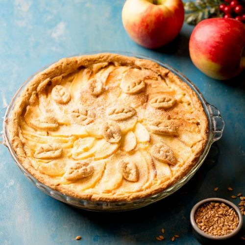Tsvetaeva Apple Pie with einkorn