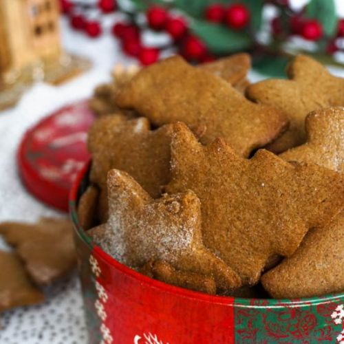 Easy Honey Gingerbread Cookoes