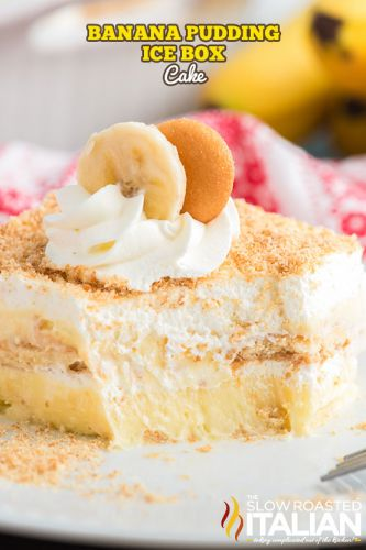 Banana Pudding Ice Box Cake