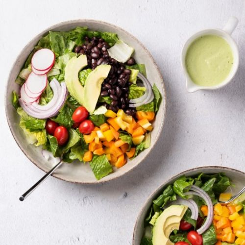 Southwest Salad & Cashew Dressing