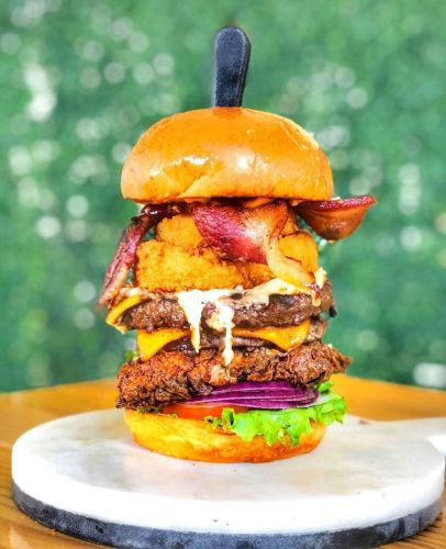 Slater's 50/50 Slaterizes National Burger Month This May With Design-Your-Own Burger Giveaway
