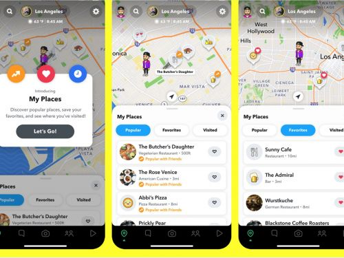 Snapchat Is Your Next Restaurant Map App?