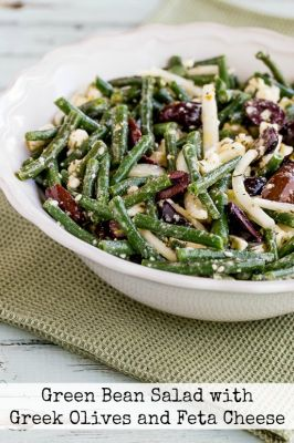 Green Bean Salad with Greek Olives and Feta Cheese - Food - Food Drink ...