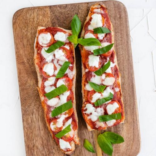 Quick Baguette Pizza