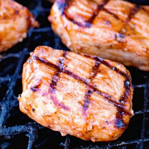Grilled BBQ Pork Chops