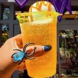 """Disneyland Released a Spiked Cider Float With Caramel on Top, So Bring on the """"Boos"""""""